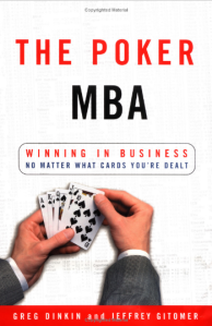 Poker MBA Consulting Book