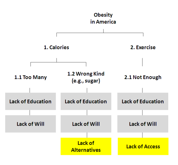 obesity essay outline
