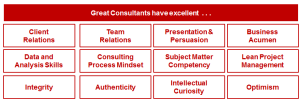 Great consultant attributes